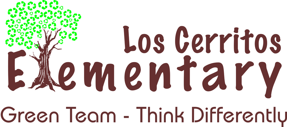 Los Cerritos Elementary Green Team Logo